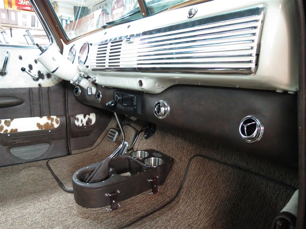 1953 Chevrolet Truck Leather Custom Interior Interiors by ...