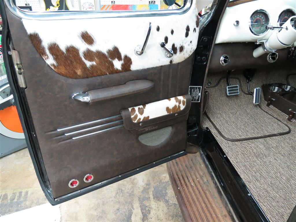 1953 chevrolet truck leather custom interior interiors by shannon. Black Bedroom Furniture Sets. Home Design Ideas
