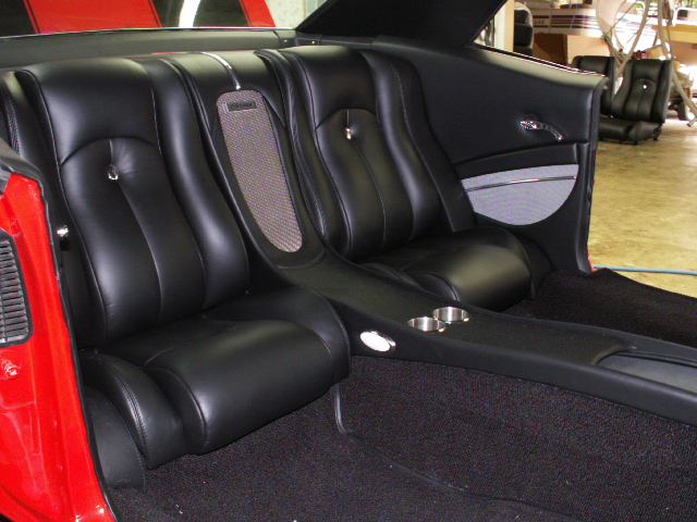 1969 Camaro Custom Leather Interior Interiors By Shannon