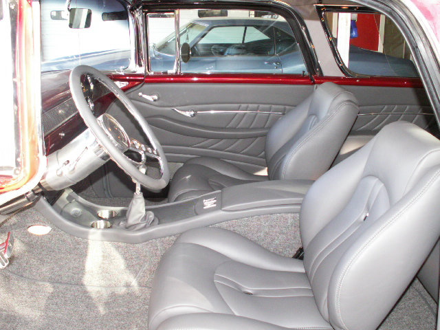 1955 chevy custom interior autos post. Black Bedroom Furniture Sets. Home Design Ideas