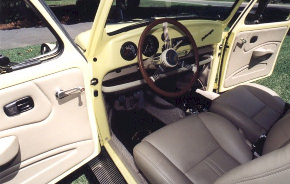 interior vw autostyle t beetle leather bug a