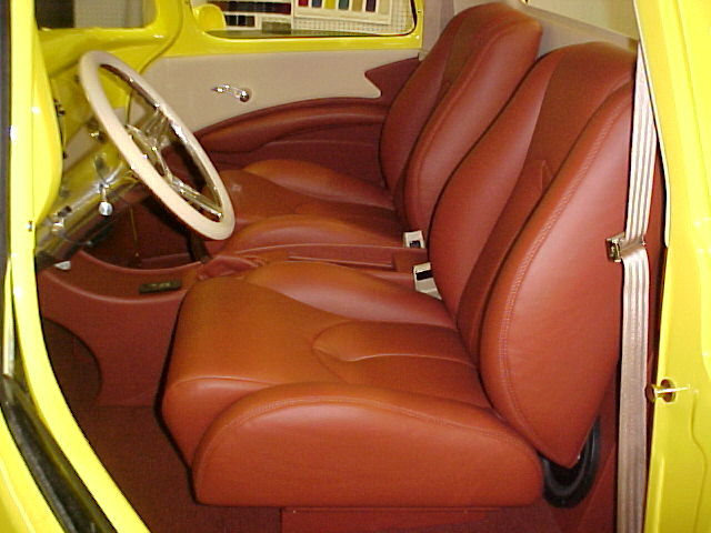 1959 Chevrolet Turck Yellow With Flames