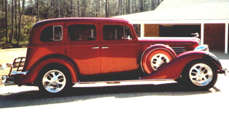 1935 Buick Sedan Custom Leather Interior. Interiors by Shannon ...: www.interiorsbyshannon.com/one35buick.htm