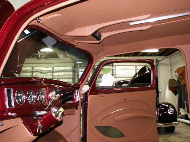 What Is A Sedan >> 1938 Chevy Hot Rod Interior Full Leather