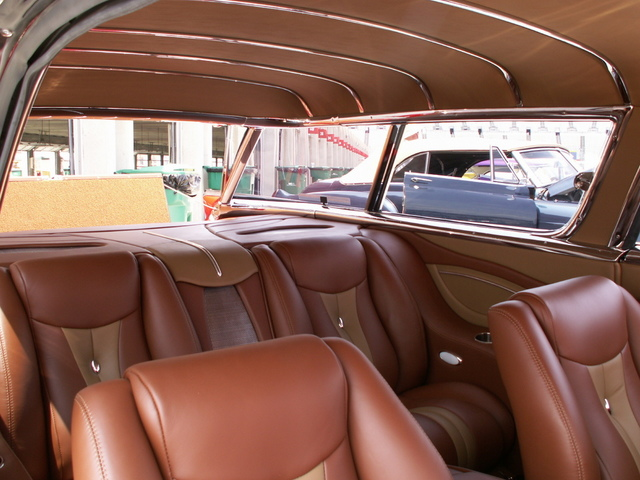 1957 chevrolet nomad wagon for sale custom leather autos weblog. Black Bedroom Furniture Sets. Home Design Ideas