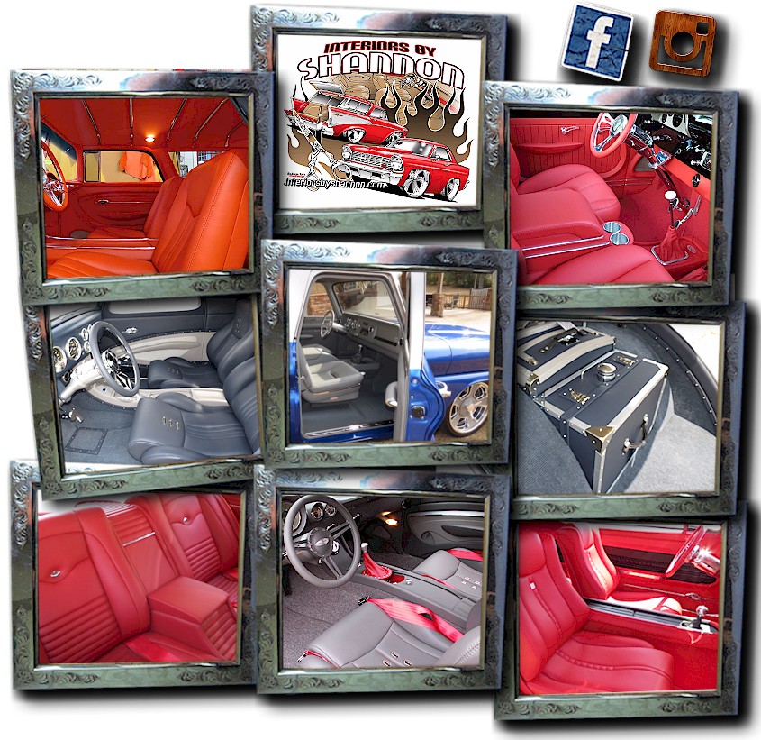 Interiors By Shannon , Custom Hot Rod Interiors, Street Rod Interiors, Custom  Interiors, Custom Upholstery, Custom Automotive Upholstery, Auto Interiors,  ...