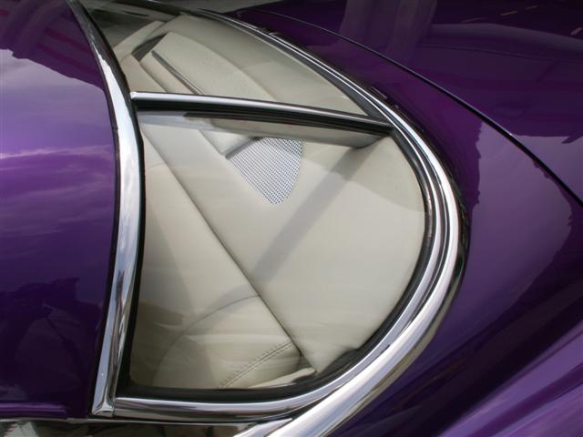 1950 Cadillac Custom Leather Interior. Interiors by Shannon (Upholstery)